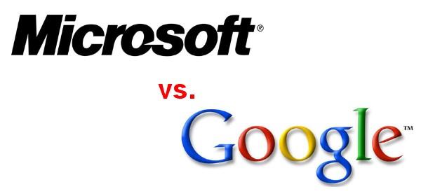 Microsoft Sues Google