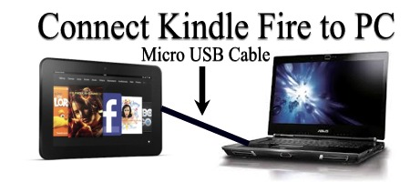 Connect Kindle Fire To PC