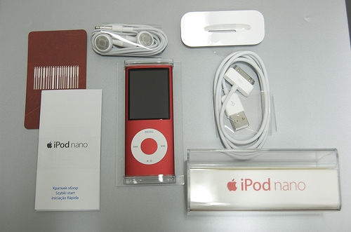 connect ipod nano to pc