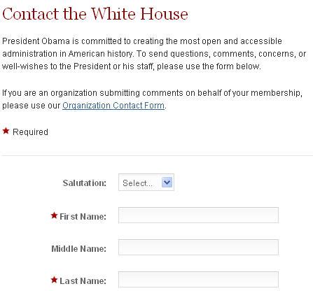 email president Barack Obama