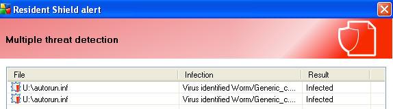 delete virus from thumb drive