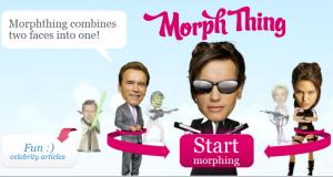Merging faces at Morph Thing