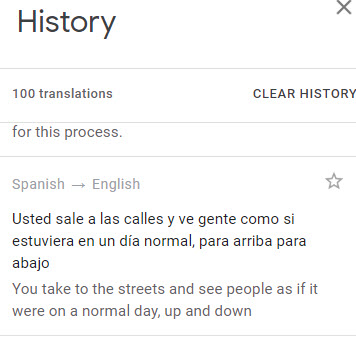 google-translation-history