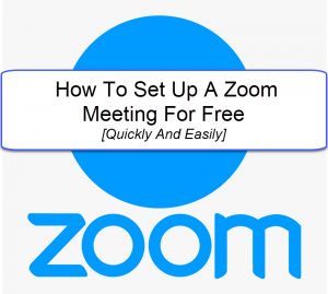how to setup a zoom meeting