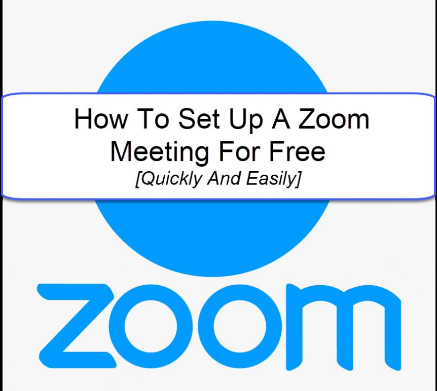 how to setup a zoom meeting