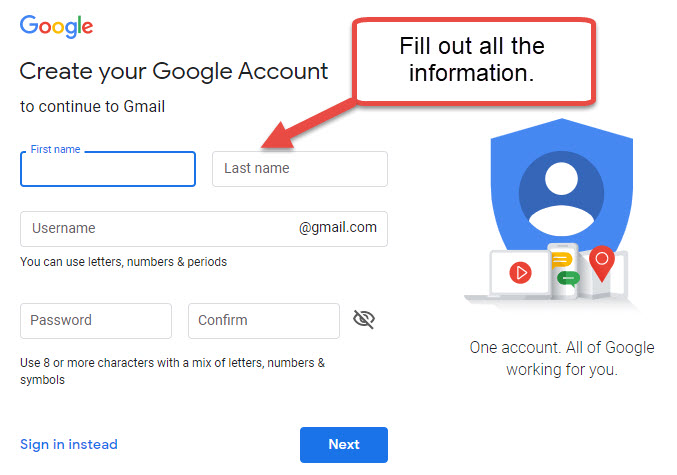 gmail-new-user-information