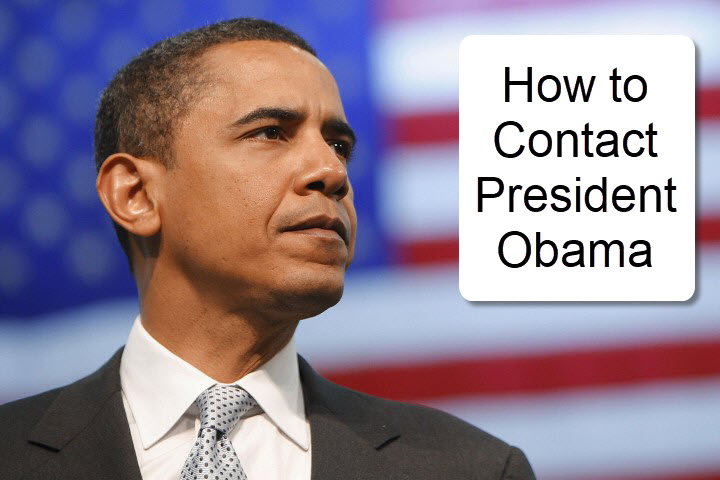 howto contact President Obama